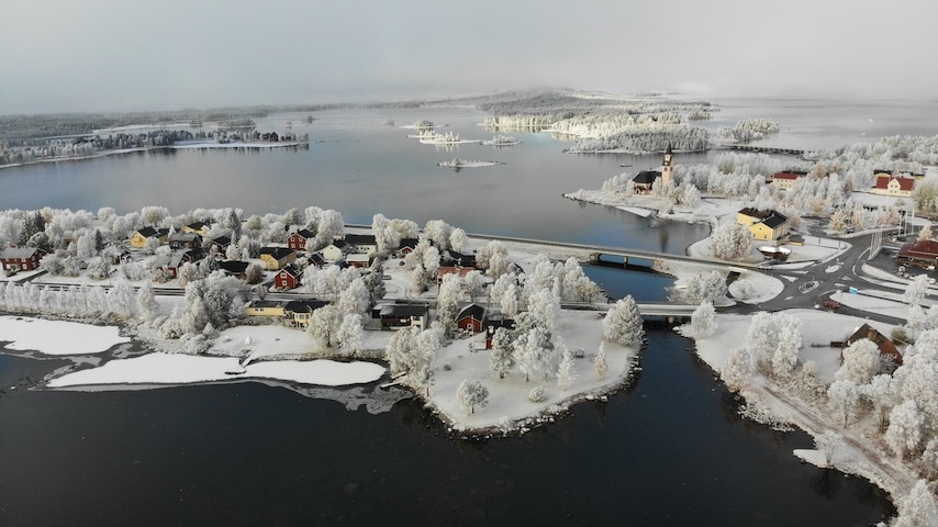 Arjeplog View Winter